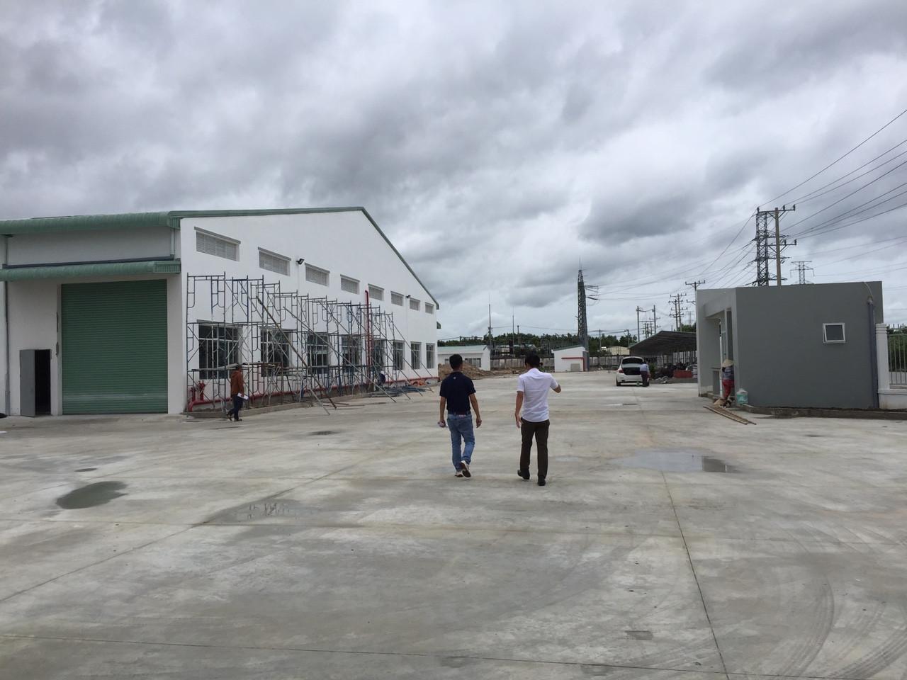 Thi công xây dựng Nhà xưởng TE ENRICH