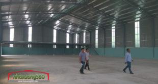 Thiết kế và thi công nhà xưởng 28 x 56m, Phạm Hùng - Quận 8 - Xí nghiệp X30 Bộ Công An