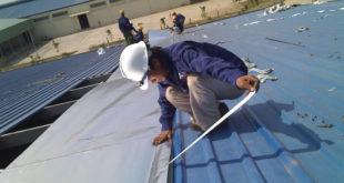 Dịch vụ sửa chữa nhà xưởng chuyên nghiệp tại Thuận An Bình Dương.