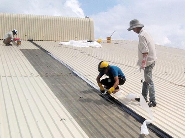 Sửa chữa nhà xưởng giá rẻ ở Bến Cát Bình Dương.