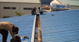 Dịch vụ sửa chữa nhà xưởng tại Bàu Bàng Bình Dương.