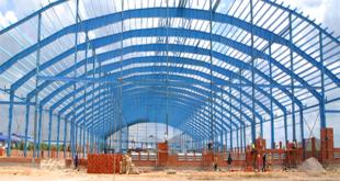 Thi công xây dựng nhà xưởng tại Đồng Nai.