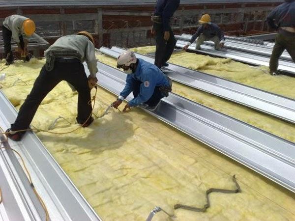 Sửa chữa nâng cấp nhà xưởng tại Bình Dương.