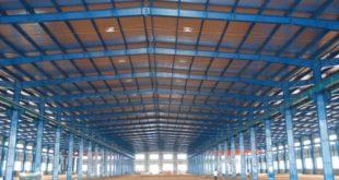 Thi công nhà thép tiền chế tại các khu công nghiệp ở Bình Phước