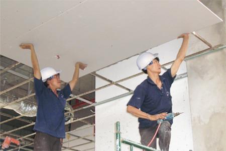 Dịch vụ cải tạo nâng cấp nhà xưởng khu công nghiệp Chơn Thành - Bình Phước.