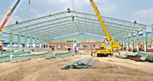 Xây dựng nhà xưởng khu công nghiệp Tam Phước - Đồng Nai