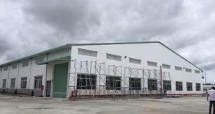 Thi công xây dựng Nhà xưởng TE ENRICH - KCN Bàu Bàng, Bình Dương.