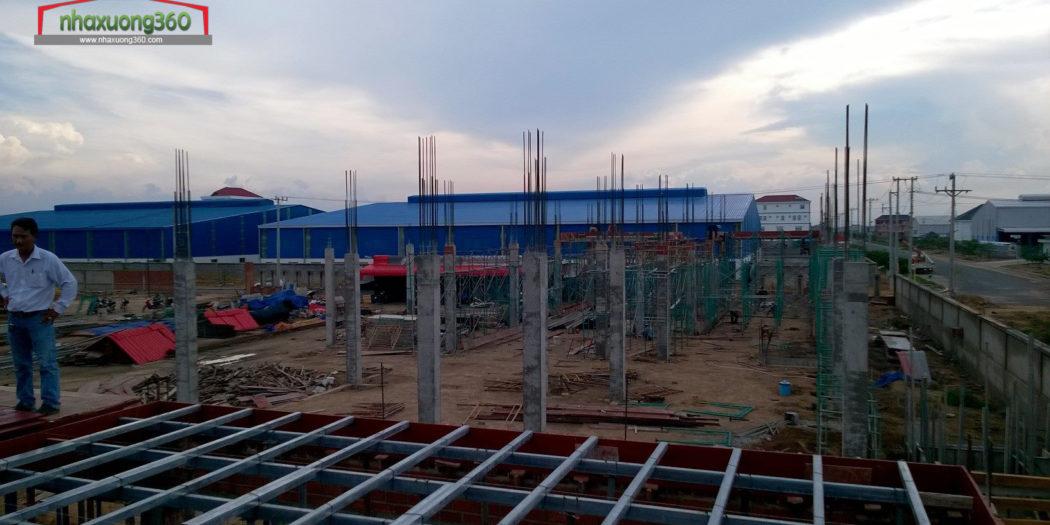 Xây dựng nhà xưởng Bình Dương - Nhaxuong360