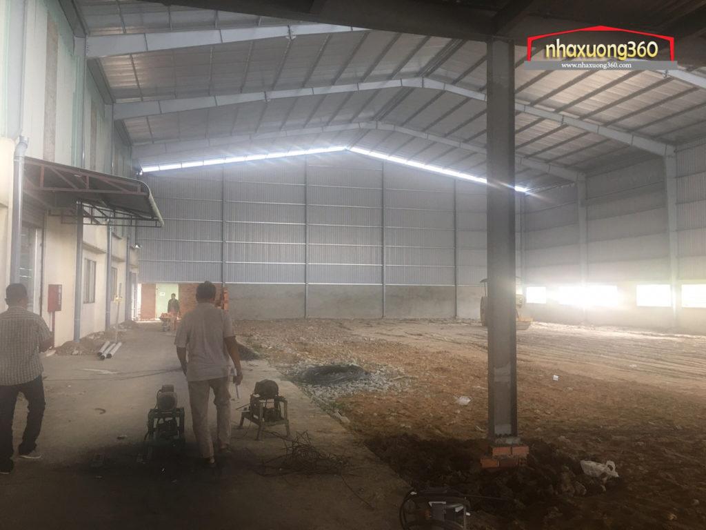 Thiết kế Thi công nhà xưởng Kwan Tat - Thuận An - Bình Dương