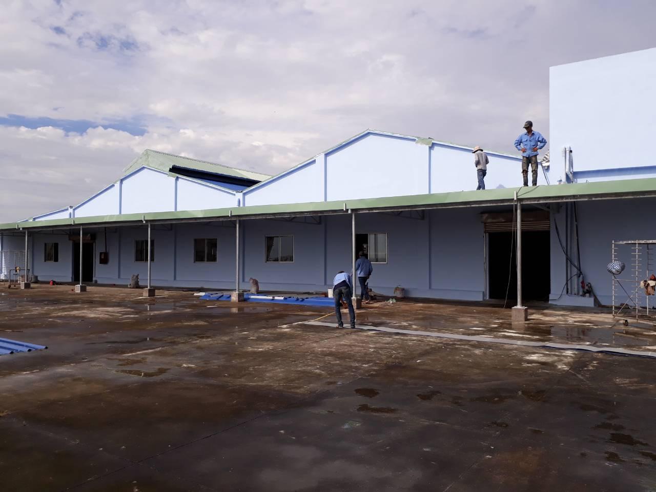 Dịch vụ cải tạo sửa chữanhà xưởng tại Bình Dương