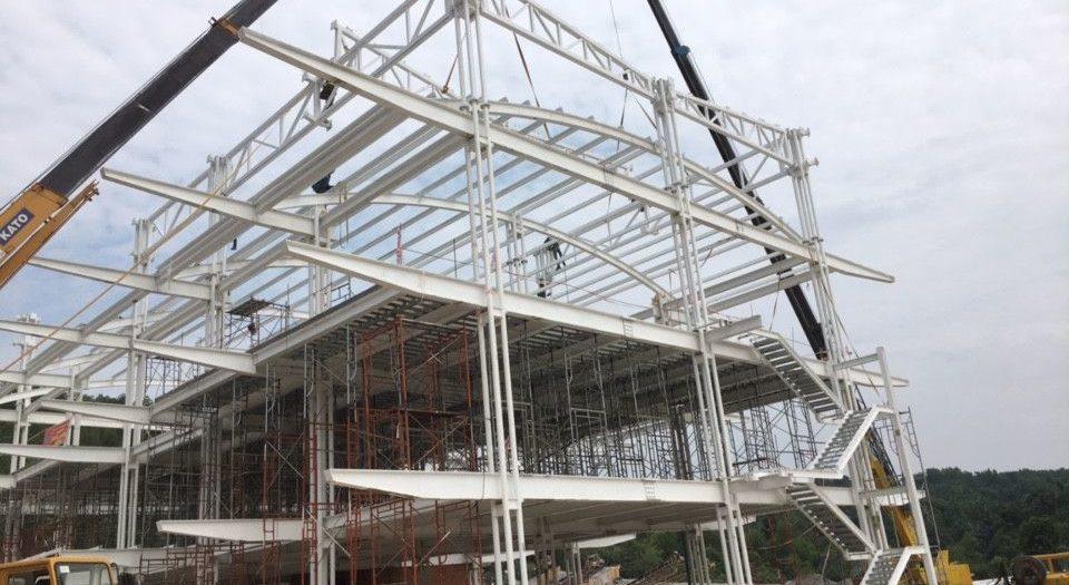 Thiết kế Thi công nhà xưởng nhà thép tiền chế tại Tiền Giang