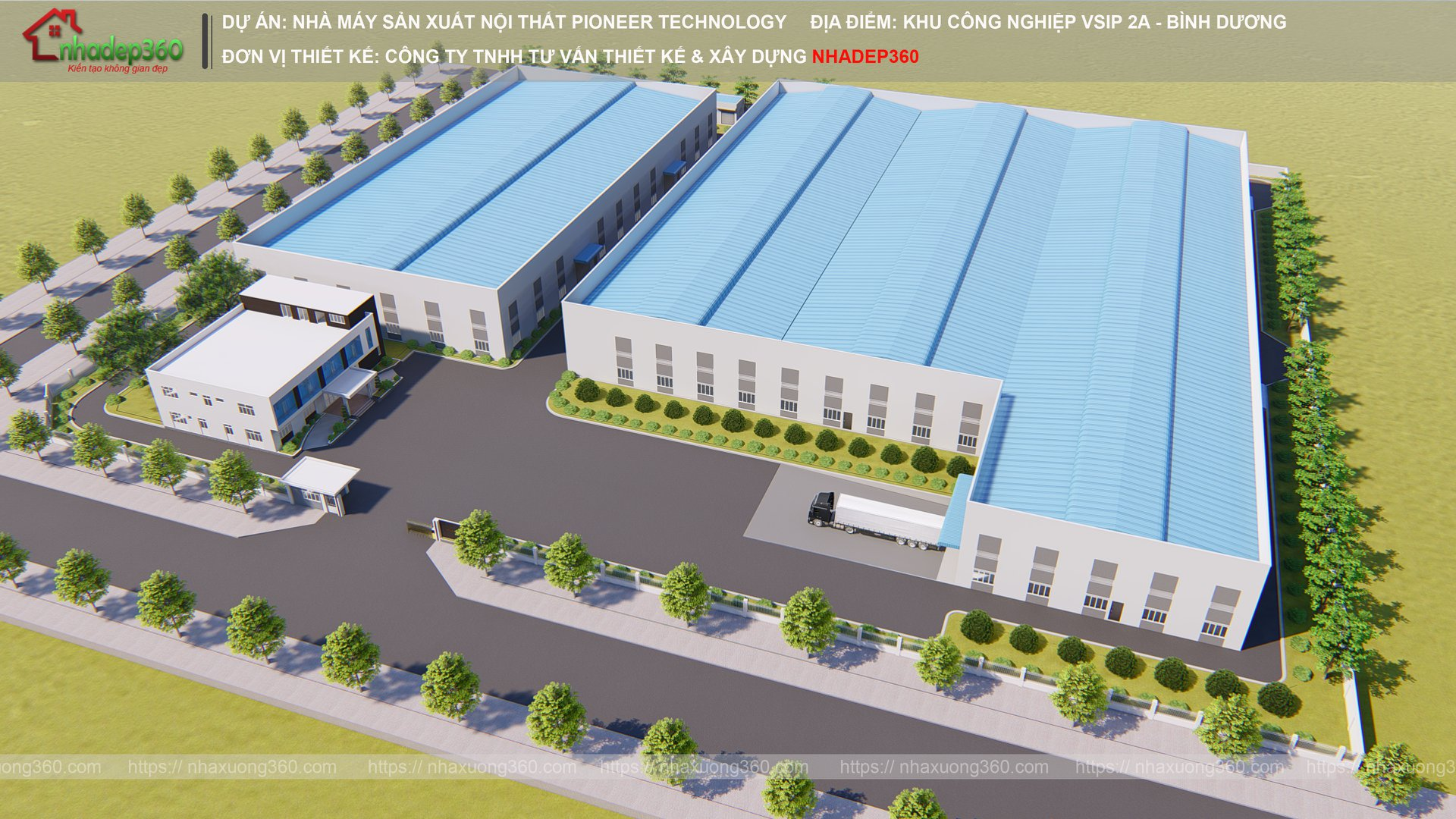 Công ty chuyên Thiết kế Nhà xưởng tại Tp Hồ Chí Minh