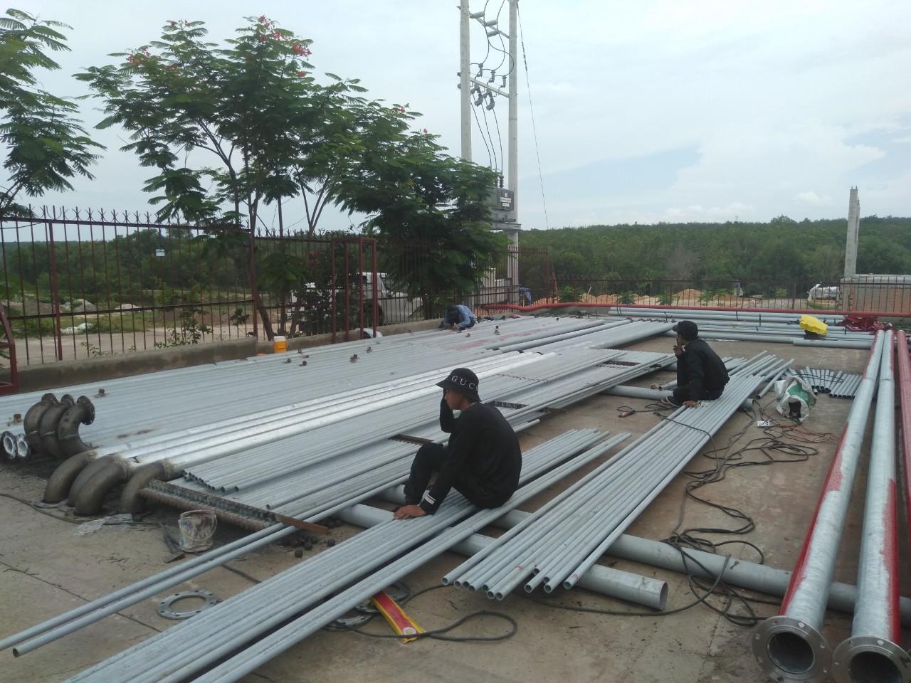 Thi công PCCC nhà xưởng ở Tân Uyên