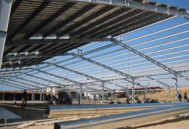 Xây dựng nhà xưởng khu công nghiệp Chơn Thành - Bình Phước.