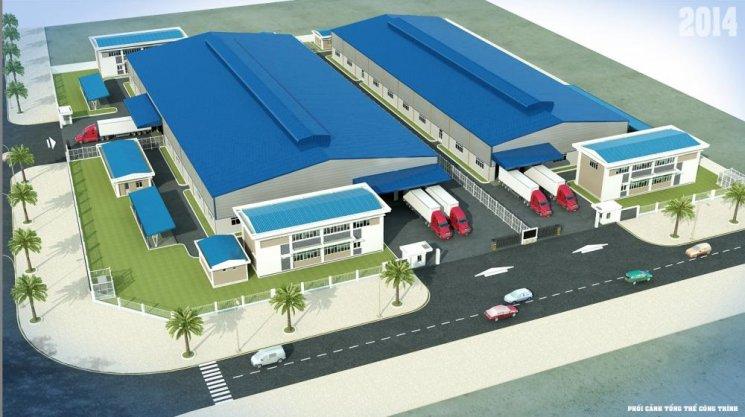 Thiết kế xây dựng nhà xưởng ở Bình Dương