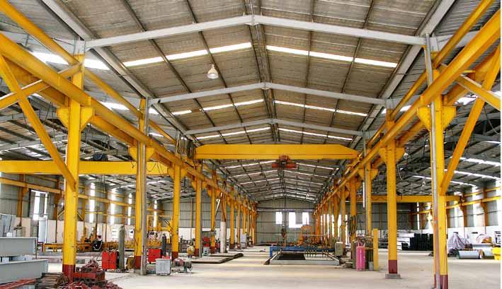 Thiết kế xây dựng nhà xưởng tại Bàu Bàng