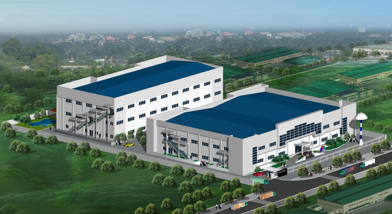 Thiết kế thi công xây dựng nhà xưởng tại các khu công nghiệp ở Bình Dương