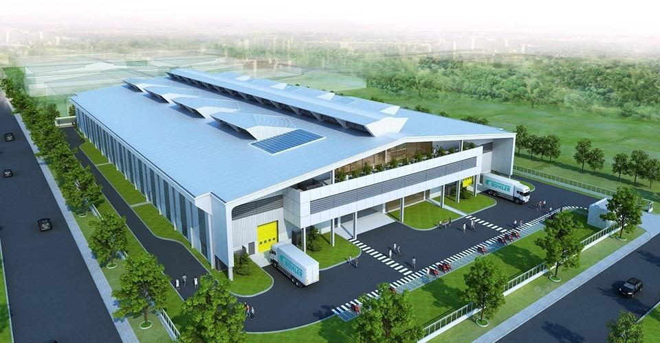 Thiết kế nhà xưởng ở Thuận An