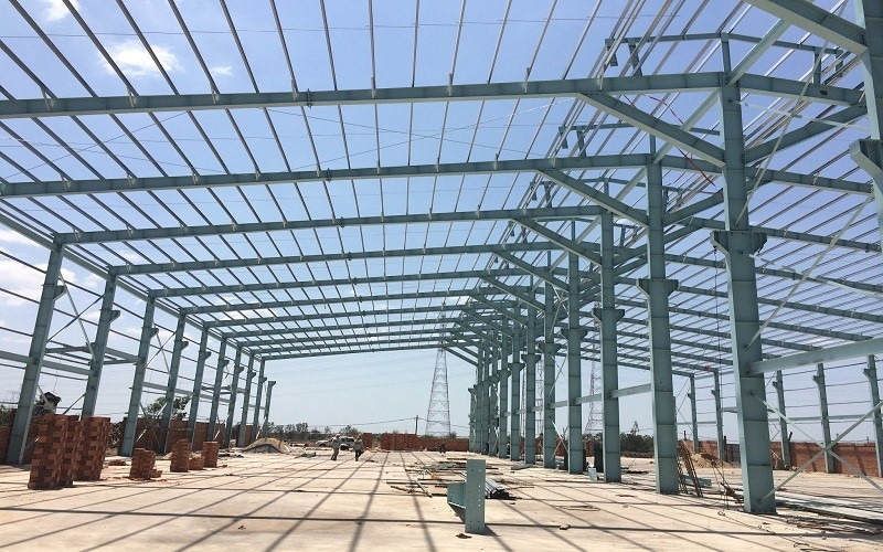 Thi công nhà xưởng tại Đồng Phú - Bình Phước
